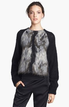 Alexander Wang Fuzzy Sweater available at #Nordstrom