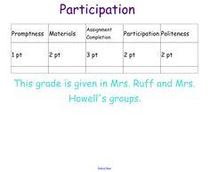 participation in math workshop