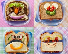 Inspiratie voor bento en gezonde lunch voor kinderen