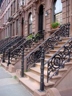 brownstones.
