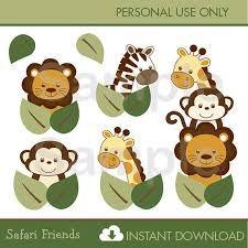 Resultado de imagen para baby animals jungle