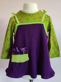 Imogen+Dress/T-Shirt, £27.99 Girls Designer Dresses, Scuba Fabric, Little Girl Dresses, Green Cotton, Serendipity, Shirts For Girls, Shirt Outfit, Dresser, Fashion Dresses