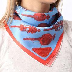 Silk Bandana, Bandana Scarf, Bandanas, Silk Neck Scarf, Kerchief, How To Wear Scarves, Vintage Scarf, Neck Scarves, Beautiful Gift Boxes
