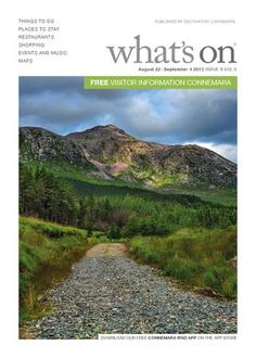 What's On Connemara uses Issuu for a digital publication Connemara, Content Marketing, Ireland, Things To Do, The Past, Education, Digital, Travel, Things To Make
