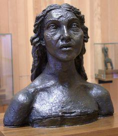 - Sir Jacob Epstein - - First Portrait of Kathleen - pixels New Art, Sculptures, Art Gallery, Statue, Portrait, Image, Figurative, Workshop, Hands