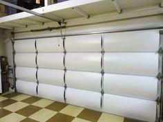 Garage Door Insulation Blanket Kit For Residential Needs   Lighthouse  Garage Doors   Lighthouse Garage Doors