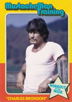 Image result for charles bronson workout meme