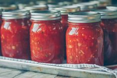 Salsa Tomate, Ketchup, Vinaigrette, Entrees, Good Food, Appetizers, Homemade, Canning, Recipes