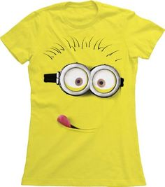 Despicable Me Silly Minion Juniors T-Shirt