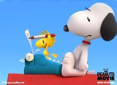 Snoopy and Woodstock Snoopy The Dog, Charlie Brown Y Snoopy, Snoopy Love, Snoopy And Woodstock, Charlie Brown Characters, Peanuts Characters, Cartoon Characters, Peanuts Movie, Peanuts Snoopy
