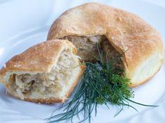 Kapustniak Spanakopita, Easy Meals, Easy Recipes, Salmon Burgers, Bagel, Bread, Ethnic Recipes, Food, Tv