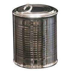 Seletti Limited Edition Porcelain Sugar Jar, Silver