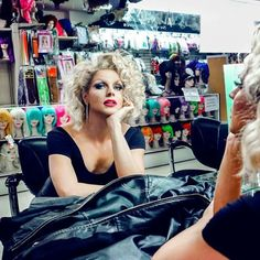 Ladies and Gentlemen, the fabulous Courtney Act! Courtney Act, Alyssa Edwards, Rupaul Drag, Sweet Cheeks, Love Your Hair, After Life, Boys Like, Drag Queens, Try On