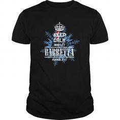 Awesome Tee BARRETTA KEEP CALM T shirts