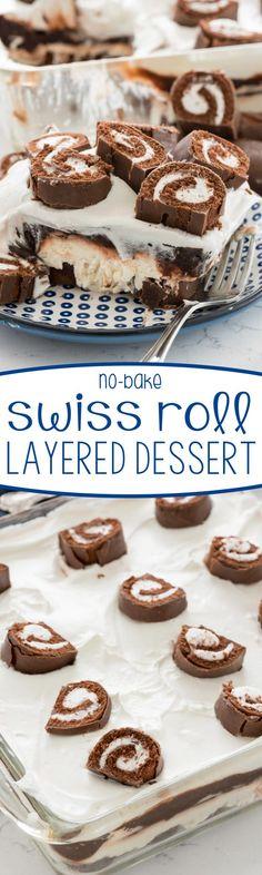 Little Debbie Swiss Cake Roll Dessert