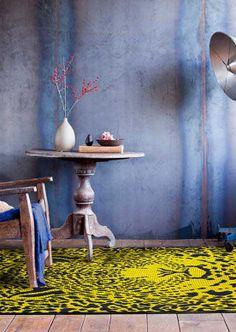 andiamo Teppich Leo in Gelb von andiamo Leo, Design, Painting, Pineapple, Bedroom Interiors, Room Interior Design, Home, Sitting Rooms, Homes
