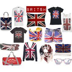 Seeing as we walk around with British stuff and LOVE IT  I wonder do the British walk around with American stuff?? Hmm probably not!