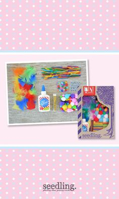 Get busy on your next collage masterpiece with this fun-filled bag