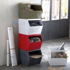 Casier, empilable métal galvanisé, Hiba, La Redoute Shopping Prix