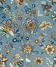 Robert Allen @ Home Kyran Vines Twilight Fabric Aqua Fabric, Robert Allen, Twilight, Vines, Painting, Bedroom, Pattern, Painting Art, Patterns