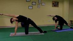 Оксисайз упражнение для растяжки, наклоны, видео уроки онлайн.