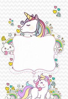 39 super Ideas for birthday invitations with pictures mice Baby Unicorn, Unicorn Art, Cute Unicorn, Rainbow Unicorn, Unicorn Birthday Invitations, Unicorn Birthday Parties, Party Invitations, Unicorn Wallpaper Cute, Unicorn Printables