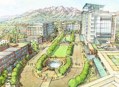 University Mall, Orem, Utah, USA