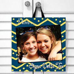 Sorority Girl Store-Sigma Delta Tau Photo Canvas