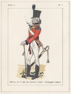 British; 2nd Foot Guards, Light Company, Officer, Egypt, 1801