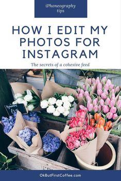 How to edit photos for Instagram #mobilemarketingeditphotos