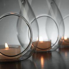 Hanging Teardrop Glass Vase