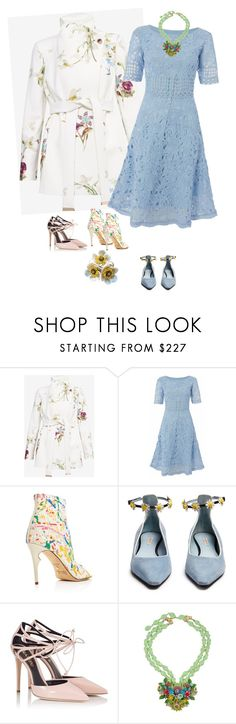 """Untitled #964"" by clothes-wise ❤ liked on Polyvore featuring Ted Baker, Raishma, Jerome C. Rousseau, Fabrizio Viti and Fratelli Karida"
