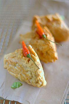 Tahu Berontak Recipe (Fried Stuffed Tofu)