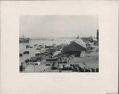 Málaga, el Muelle. Fotografía — 1891