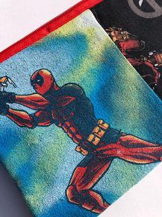 SALE Deadpool Zipper Pouch: Comic Books, Antihero.