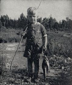 Vintage fishing photo:)... Those were the days!    www.bestbuddyfishing.com