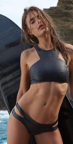 Mikoh Maldives High Neck Neoprene Bikini