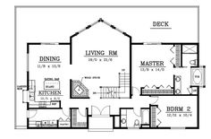 Plan No.231022 House Plans by WestHomePlanners.com