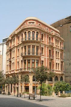 Lebanon, Beirut, Greener and Cleaner, beautiful building… by spdl_n1, via Flickr