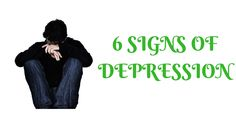 6 Signs of #depression. - Losing hope - Energy loss and presence of fatigue - Sudden change in sleeping time - Physical illness - Loss of interest and focus - Dramatic change in appetite