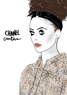 Chanel - Illustration by Charly Rodrigues