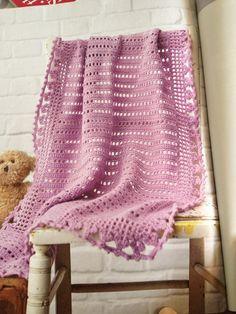 Baby blanket pattern Simply Crochet magazine issue 19