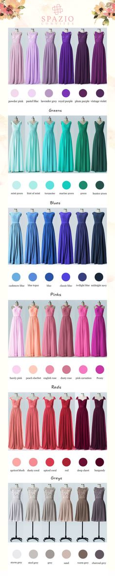 super Ideas for wedding colors summer bridesmaid dresses brides Summer Bridesmaid Dresses, Wedding Bridesmaids, Bridal Dresses, Wedding Gowns, Hair Wedding, Blue Bridesmaids, Lavender Bridesmaid, 2017 Wedding, Dress Prom