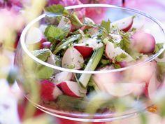 Lecker so ein Radischensalat! Frühlingshafter Salat mit Radieschen und jungen Birkenblättern - smarter - Zeit: 15 Min. | eatsmarter.de