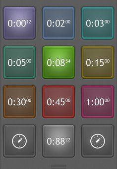 Timer : ($0.99) Setting a timer shouldn't be a chore. Tap to start, tap to stop, tap and hold to edit. That's it. That's Timer.