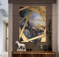 Large Abstract Oil Painting Abstract Painting Oil Painting Modern Art Texture Art Gold Panting Wall Art Original Painting by Julia Kotenko by JuliaKotenkoArt on Etsy