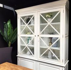 *South Hamptons 2 Door Wall Unit - White - Sold Out - Pre-Order for early June South Hampton, Sideboard Buffet, Door Wall, Bespoke Furniture, Alexandria, Vintage Home Decor, China Cabinet, The Hamptons, Commercial