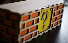 Get Old School With The Mario Question Mark Block Lamp