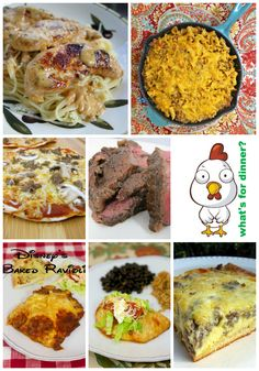 Weekly Meal Plan Ideas - a recipe for every day of the week!
