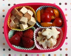 autumn bento...yum!